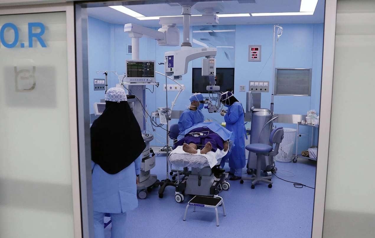 جراحة الغلوكوما على يد الدكتور علي رضا اسماعيلي