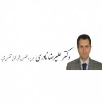 الدكتور علي رضا نادري