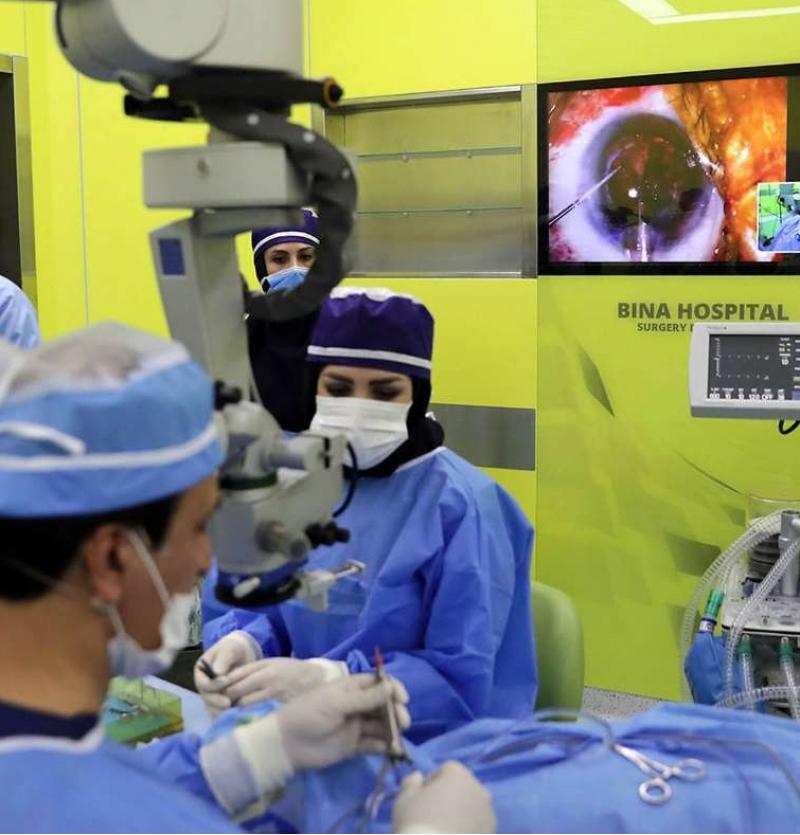 أفضل وأحدث مستشفى للعيون في ايران